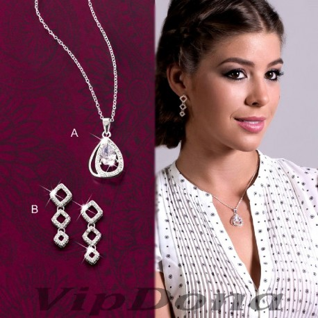 SET KODA :: NECKLACE & EARRINGS