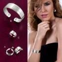SET STHEA :: EARRINGS, BRACELET & RING