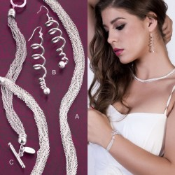 SET YACHS :: NECKLACE, EARRINGS & BRACELET