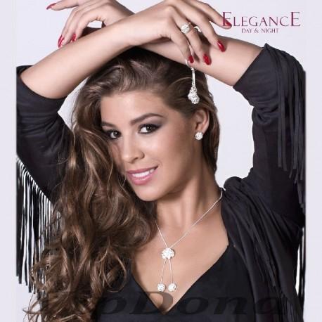 SET OREA :: NECKLACE, EARRINGS, BRACELET & RING