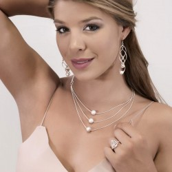 SET ZHORA :: NECKLACE & EARRINGS